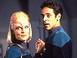 Melora episode synopsis,reviews,forums,photos,The Dogs of War episode synopsis,Vortex episode synopsis,If Wishes Were Horses episode synopsis,The Collaborator episode synopsis,Trials and Tribble-ations episode synopsis
