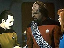 Parallels episode synopsis,reviews,forums,photos,Encounter at Farpoint, Part II episode synopsis,Silicon Avatar episode synopsis,Skin of Evil episode synopsis,The Game episode synopsis,Too Short a Season episode synopsis